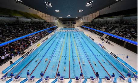London 2012 Organisers Play It Cool Over Aquatics Centre Temperature Sport The Guardian