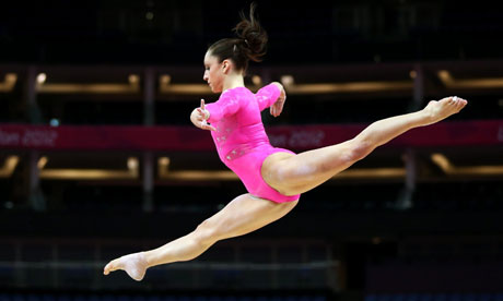 gold medal contender at London 2012. Photograph: Rolf Vennenbernd/EPA