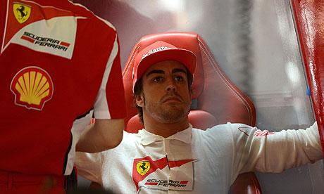 Alonso Ferrari World Ferrari's Fernando Alonso in