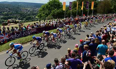 London 2012 men's cycling road