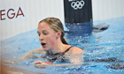 Team GB's Hannah Miley after she failed to reach the podium for a London 2012 medal