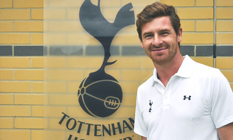 André Villas-Boas takes the helm at White Hart Lane