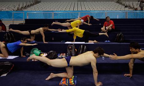 China swimmers at London 2012
