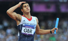 Adam Gemili, Team GB athlete