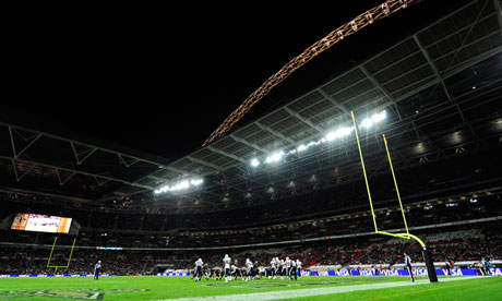 Wembley Stadium will host the St Louis Rams' match against the New England Patriots in October