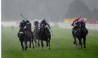 Shareta wins in the rain