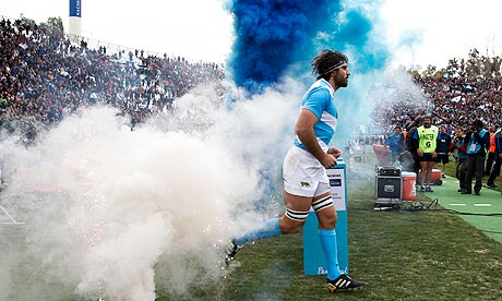 Argentina's Juan Martín Fernández Lobbe before the Rugby Championship match against South Africa