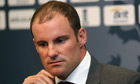 Andrew Strauss announces his retirement