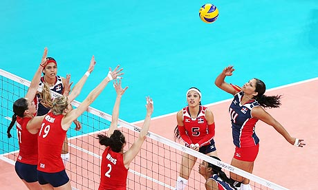 London 2012: British women lose to Dominican Republic in volleyball