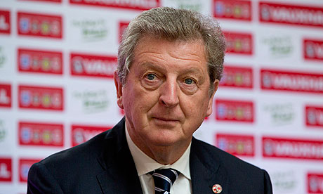 England football manager Roy Hodgson