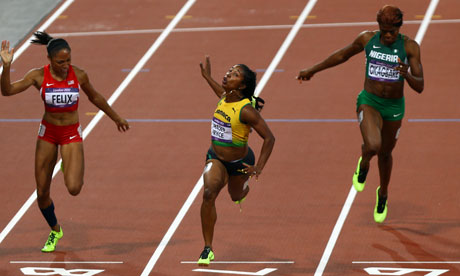 The News Track: Fraser Pryce Wins 100m, Regains Title of ...