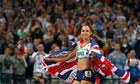 Jessica Ennis of Great Britain at the Olympic Stadium
