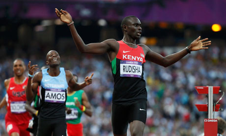 > Oh those Kenyans...David Rudisha breaks WR again to win Olympic 800m gold - Photo posted in BX SportsCenter | Sign in and leave a comment below!