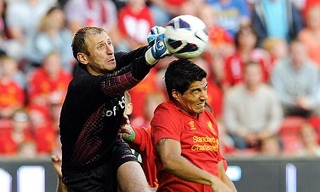 Luis Suárez put on an irrepressible display of skill and creavity for Liverpool