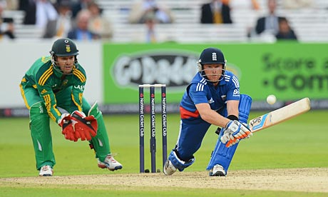 Ian Bell does quite well