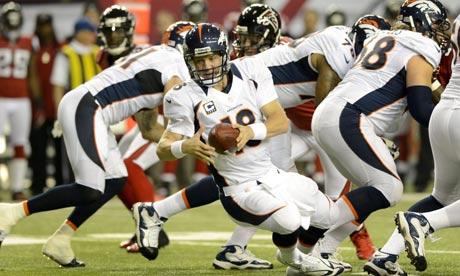 Peyton Manning, Denver Broncos at Atlanta Falcons