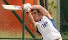 England's Craig Kieswetter in training