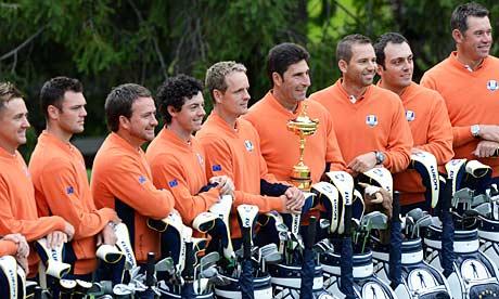 2012 Winning Ryder Cup Team Ryder Cup 2012 Europe