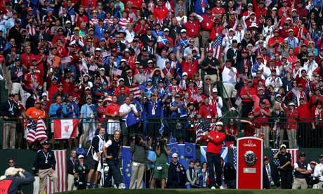 Ryder Cup Fans Ryder Cup 2012 Europe's Olé
