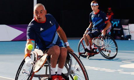 Peter Norfolk Paralympics 2012 Peter Norfolk and Andy Lapthorne take