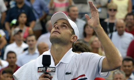 Andy Roddick at the US Open