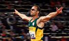 Oscar Pistorius wins 400m