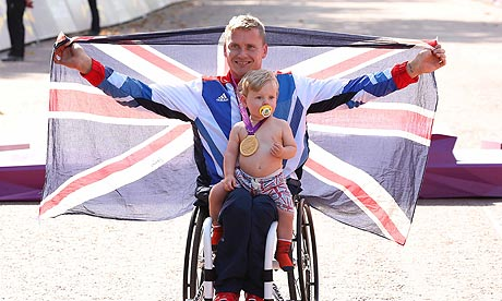 David Weir London 2012 Paralympic Games