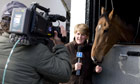 Channel 4 Racing at Nicky Henderson Stables