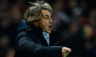 Roberto Mancini, Arsenal v Man City