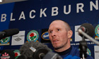 Blackburn Rovers - Michael Appleton Press Conference