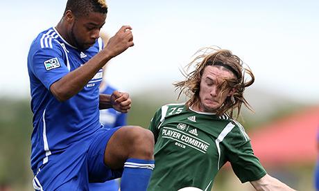 Andrew Farrell Greg Cochrane MLS Combine 2013