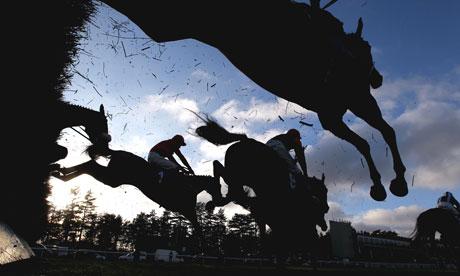 Jump racing at Ludlow