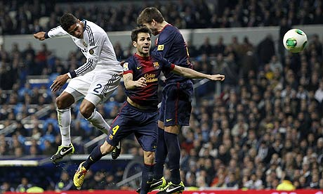 Raphal Varane Real Madrid CF v FC Barcelona 