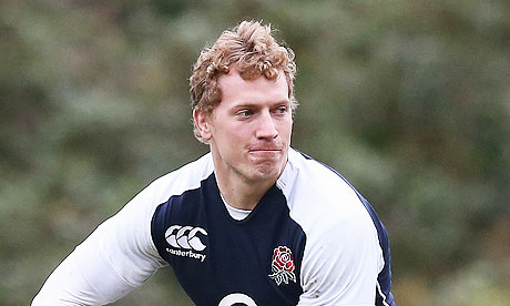 Billy Twelvetrees, who will play for England against Scotland in the Six Nations opener, in training