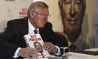 The Agenda: Sir Alex Ferguson on tour to bring football to book | Sport