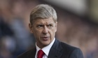 Arsène Wenger, Arsenal's manager, said his players would take mental comfort from their league place