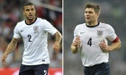 Kyle Walker and Steven Gerrard