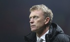David Moyes, the Manchester United manager, said the referee was in a good position for the penalty