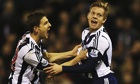 West Bromwich Albion Matej Vydra celebrates scoring