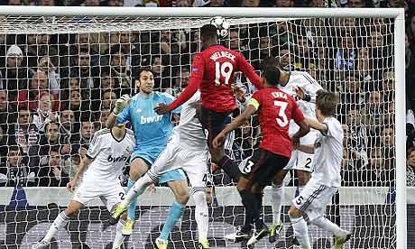Danny Welbeck goal Real Madrid v Manchester United