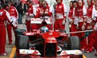 Fernando Alonso tests the new Ferrari in F1 testing session, Circuit de Catalunya, Barcelona