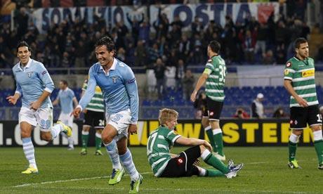 Lazio's Alvaro González