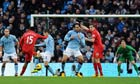 Daniel Sturridge scores from long range for Liverpool against Manchester City