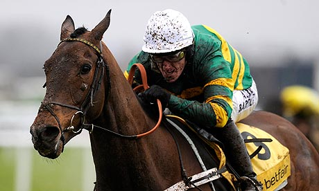 Tony McCoy riding My Tent Or Yours wins at Newbury
