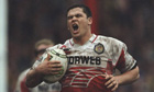 Andy Farrell of Wigan