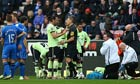 Wigan Athletic v Newcastle United Premier League