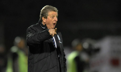 Roy Hodgson, the England manager, is likely to change his forward line for Montenegro