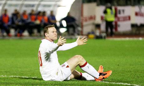 England. Wayne Rooney