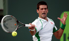 Novak Djokovic will play the German Tommy Haas in the fourth round of the Sony Open in Miami