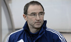 Martin O'Neill looking grim